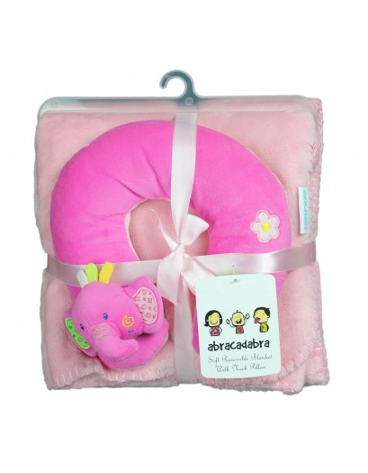 Neck Pillow With Blanket