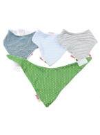 Bandana Bibs(Pack OF 4)