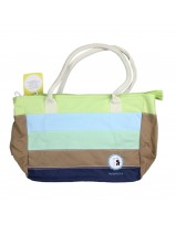 MultiStripe Diaper Bag